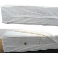 Lot de 25 rénove matelas déperlant et respirant Premium 90X190+15 cm