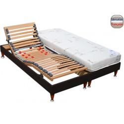 Sommier relaxation électrique Vincey Plus 120 x 200 cm