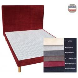 Tête de lit tissu ameublement H110 x L120 cm