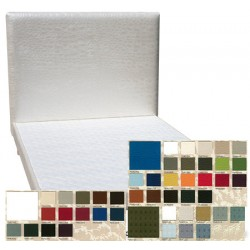 Tête de lit tissu spécifique non boutonnée H95 x L180 cm