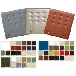 Tête de lit tissu spécifique boutonnée H95 x L80 cm