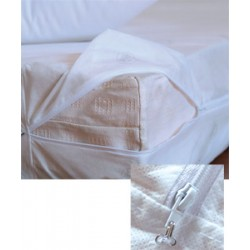 Lot de 10 housses de matelas anti-punaises de lit 140x200+20 cm