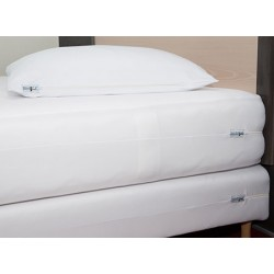 Housse anti punaises de lit matelas ou sommier Twin 90/100x190/210 cm