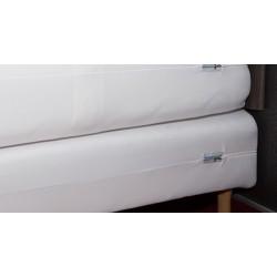 Housse anti punaises de lit sommier à lattes 160x190/210 cm