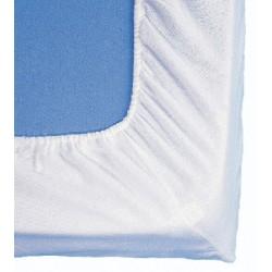 Alèze molleton Benodet 100% coton 200gr forme drap housse 120x190 cm