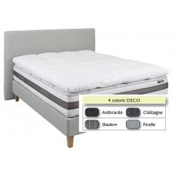 Tête de lit finition lisse déco L140xH115 cm