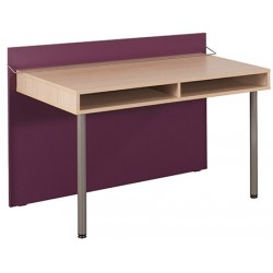 Bureau simple Futur 128x62x89 cm