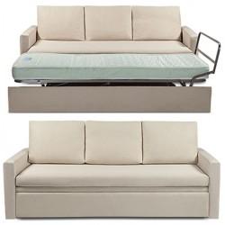 Canapé lit confort Gigogne L215 x P92 x H78 cm