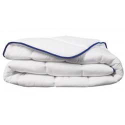 Couette tempéré Microfibre 100% polyester blanc 300 g/m2 280 X 260 cm