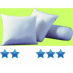 Lot de 25 oreillers 40x60 cm coton blanc garnissage polyester 330 g