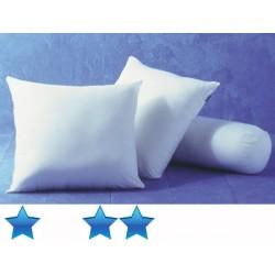 Lot de 24 oreillers 60x60 cm polycoton blanc garnissage polyester 400 g
