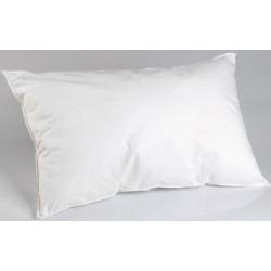 Lot de 25 oreillers 45x70 cm blanc 100% coton et fibres polyester
