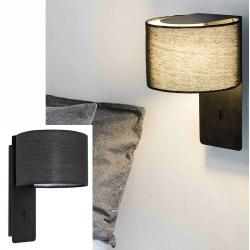 Lampe applique Fold noire