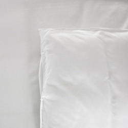 Housse de couette Be Eco i-care polycoton 50/50 blanc 130 g 265x275 cm (le lot de 8)