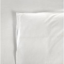 Housse de couette Tradition polycoton 74/26 blanc 130 g 160x270 cm (le lot de 10)